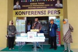 Bank Sulutgo serahkan bantuan alat kesehatan ke gugus tugas