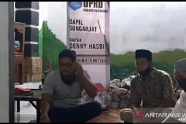 Anggota DPRD Bangka serap aspirasi masyarakat terdampak COVID-19 (Video)