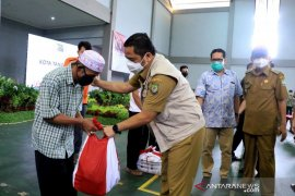 Kota Tangerang terima 55.066 paket sembako bantuan Presiden