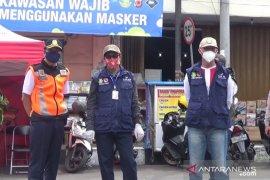 Seluruh aktivitas warga dan pertokoan di Jalan Ahmad Yani Kota Sukabumi akan ditutup
