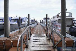 Pengelola Pelabuhan Kaliadem tutup akses masuk  ke Kepulauan Seribu