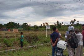 Kemenkumham segel tanahpembangunan Kantor Samsat Aceh Jaya, begini alasannya