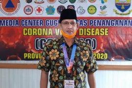 Pasien terkonfirmasi positif COVID-19 Jambi menjadi 64 orang