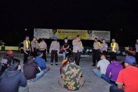 Polresta Sidoarjo  catat dua kecamatan bandel terapkan PSBB