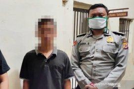 Pemuda arogan  ditangkap karena pukul petugas Posko PSBB