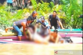 Tragis, Seorang wanita berenang di Sungai Kusan tewas diterkam buaya