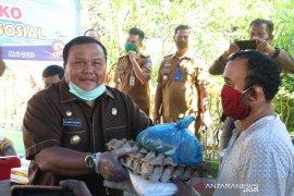 Pemkot Sibolga mulai salurkan paket sembako bagi warga terdampak COVID-19