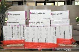 Pupuk Kaltim berikan 600 alat tes COVID-19 ke RSUD Bontang