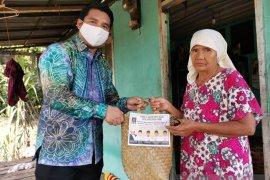 DPD dan Aleg PKS HSS salurkan 2.000 paket sembako untuk pengurus serta simpatisan
