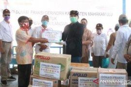 Bupati Mahulu apresiasi petugas pos pencegahan wabah COVID-19