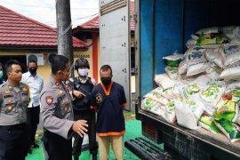 Polres Kotawaringin Barat, Kalteng sita 2.340 kilogram beras oplosan siap edar