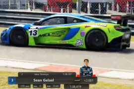 Sean Gelael melakukan silaturahmi Ramadhan dengan balapan