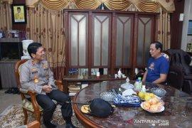 Sowan ke Gubernur, Irjen Nico sampaikan komitmen jaga stabilitas kamtibmas