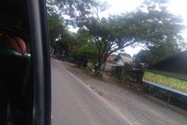 Lalulintas angkutan umum jalan raya masih sepi