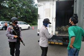 Polres Bogor Kota sambut baik program donasi masker untuk personil polisi