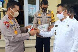BNN serahkan bantuan 30 ribu masker kepada Polda Aceh