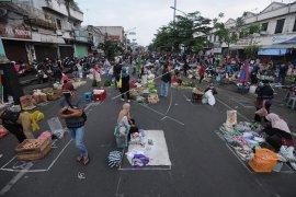 Pasar rakyat di Malang Raya bisa terapkan ganjil-genap saat PSBB