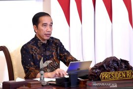 Presiden Joko Widodo minta Gugus Tugas Penanganan COVID-19 di RT/RW diperkuat