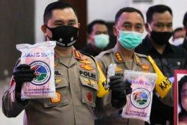Polisi ungkap peredaran 100 kilogram sabu-sabu