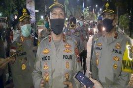 Kapolda Kalsel pantau jam malam pelaksanaan PSBB jilid 2 di Banjarmasin