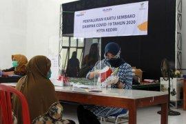 Pemkot Kediri distribusikan ribuan Kartu Sembako