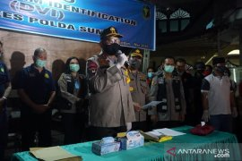 Polisi periksa 12 orang terkait kebakaran kapal tanker di Pelabuhan Belawan