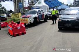 Polres Rejang Lebong halau ratusan kendaraan pemudik