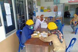 Dinkes Pangkalpinang rapid tes massal warga di dua kelurahan