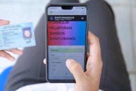 Lapor secara daring, warga Banyuwangi peroleh paket sembako