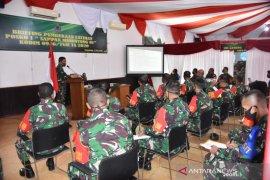 Prajurit Kodim 0906 Tenggarong ikuti latihan penanggulangan bencana