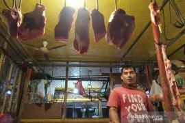 Harga daging sapi di pasar Indramayu masih normal
