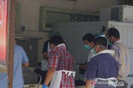 Kondisi jenazah korban kebakaran kapal tanker di Belawan sulit dikenali