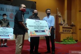 BI Bali salurkan 1.300 paket sembako untuk warga terdampak COVID-19
