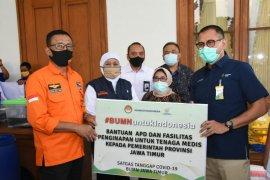 Satgas COVID-19 BUMN di Jatim gelontor Rp7,9 miliar untuk kesehatan