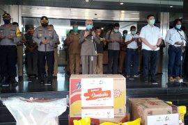 Gubernur Sebut Bantuan MHU dan MMSGI Terbesar Dukung Penanganan COVID-19