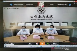 China berbagi pengalaman perawatan pasien COVID dengan Indonesia