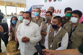 Gubernur apresiasi bantuan Satgas Bencana BUMN Sumut  di tengah pandemi COVID-19