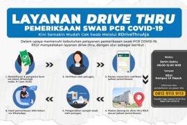 RSUI buka layanan pemeriksaan swab PCR COVID-19 'drive thru'