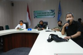 Banjar dan Banjarbaru sepakat PSBB mulai Sabtu dinihari