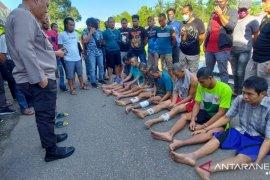 Polisi tembak tahanan kabur bobol Rutan