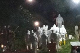 Pemakaman seorang pasien PDP COVID-19 di Ternate sempat dihadang warga