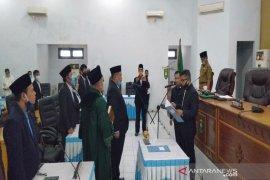 Ahmad Taufik dilantik menjadi anggota DPRD Madina