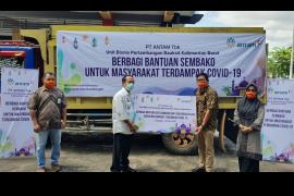 ANTAM salurkan bantuan tahap 2 untuk penanganan COVID-19 di Sanggau