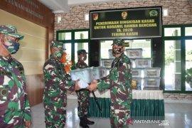 Koramil rawan bencana di Gorontalo menerima bantuan dari KSAD