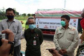 SKK Migas-PetroChina serahkan bantuan sembako bagi masyarakat Tanjungjabung Timur