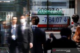 Saham Tokyo anjlok dipicu penurunan Wall Street