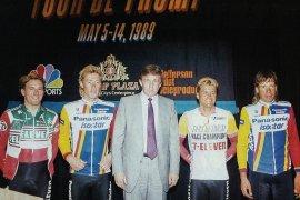 Trump pernah berambisi saingi Tour de France tapi tak kesampaian untuk mewujudkannya
