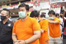 Polisi Medan ringkus ketua geng motor penyerangan di  kompleks perumahan guru