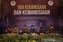 Presiden Jokowi sebut pentingnya ikhtiar batiniah saat pandemi COVID-19