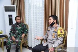Sinergitas TNI-Polri jaga kamtibmas perairan di Kalsel
